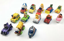 13 Sesame Street 1980s Muppets Metal Diecast Cars