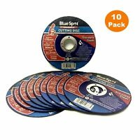 """10 x 115mm Thin Metal Cutting Grinder Discs 4½"""" x 1mm x 22.2mm  Stainless Steel"""