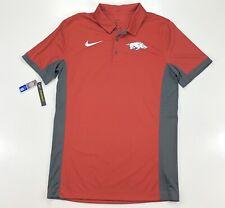 Nike Arkansas Razorbacks Dri Fit Golf Polo Short Sleeve Shirt Size Small