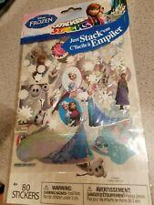 Disney Frozen Sticker Stacks ~ 80 Stickers