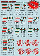 Print Scale Decals 1/48 Mikoyan MIG-29A/MiG-29UB Iranian # 48129