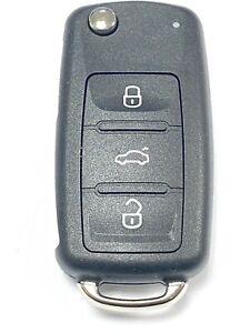 RFC 3 button case for Skoda Octavia Superb remote flip key 2010 - 2014 fob