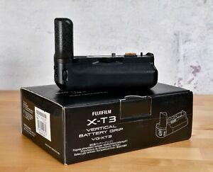 Fuji VG-XT3 Battery Grip Fujifilm X-T3 Grip Boxed Immaculate