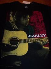 BOB MARLEY Playing Guitar T-Shirt LARGE NEW w/ TAG