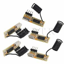 5 PCS BOR-RXB12 Chip Superheterodyne RF Wireless Receiver Module 3-5V 315Mhz