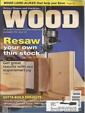 Wood Magazine   Better Homes And Gardens   November 1998   Issue No. 109