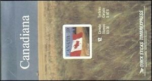 Canada 1192a booklet, MNH. Michel 1170 MH. Flag, Field, 1990.