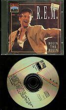 R.E.M. Begin The Begin CD