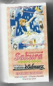 Weiss Schwarz Cardcaptor Sakura Clear Card Booster Box English [Collectible] NEW