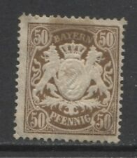 1890 German States BAVARIA  50 Pfennig issue  mint*, Michel # 63 x, $ 72.00