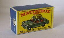 Repro Box Matchbox 1:75 Nr.56 Fiat 1500 älter