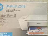 New HP Deskjet 2549 (2547) wireless Printer-copyer-scanner-Tablet Printing+CD