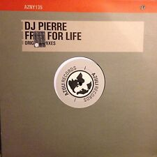 DJ PIERRE • Free For Life • Vinile 12 Mix • 2000 AZULI