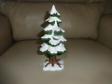 """Dept. 56 Heritage Village Accessory """"Porcelain Pine Tree� (small) #5219-1"""