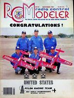 Radio Control Modeler RCM Magazine September 1987 U.S. Pylon Racing team m150