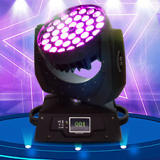 360W RGBW LED Zoom Moving Head Wash Stage light DMX Band Party DJ Touch Screen