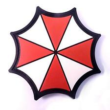 rubber PVC 3D resident evil umbrella corp tactical airsoft touch fastener patch