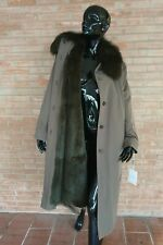 Cappotto impermeabile pelliccia LAPIN  fur coat fourrure fuchs pelz  Manteau