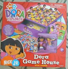 NICK JR. DORA THE EXPLORER GAME HOUSE WITH EIGHT GAMES--BRAND NEW!