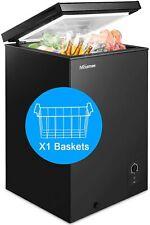 Chest Freezer Nictemaw 3.4 Cu.Ft Large Capacity Refrigerator with Energy Saving^