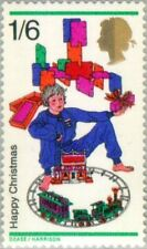 GREAT BRITAIN -1968- Christmas 1968 - Toys and Trains - MNH Stamp - Scott #574