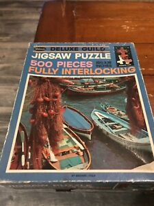500 piece vintage Deluxe Guild Jigsaw Puzzle- complete!!!!