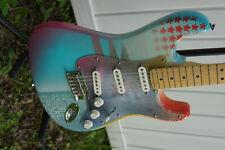 Amazing Custom Artwork Fender Stratocaster Strat USA American standard