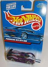 Hot Wheels 2000 Collector #172 Porsche 911 GT1-98 Mtflk Purple 27 WSPs 27138