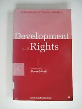 Development and Rights, Oxfam, 1998