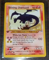 1st Edition Shining Charizard 107/105 Neo Destiny *REPLICA* HANDMADE ART