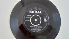 "ex- / ex-  Buddy holly 7"" peggy sue got married 1959 coral q 72376 labels ex-"
