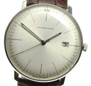 JUNGHANS Maxville 041/4463.44 Silver Dial Quartz Men's Watch_569240