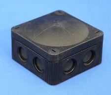 COMBI JUNC BOX 76X76X51 IP66 BLACK 10061998 WISKA