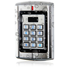 Metal Standalone Access Control & Wiegand 26-37 bit Reader for 125KHz HID Card;