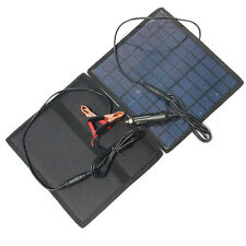 18V 5.5W Solar charger Solar Panel /battery Charger For Car/Moto Power othe R4I8