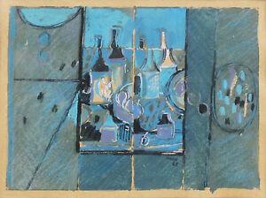 KENNETH EDWIN HOOD (1928-2002) Original Gouache Abstract 1968 Roy De Maistre