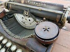 Underwood Standard Four Bank Keyboard Portable Typewriter
