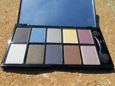 New - Nyx 10 Color Eyeshadow Palette - Jazz Night