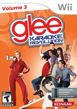 Karaoke Revolution Glee: Volume 3 Game Only WII New nintendo_wii;