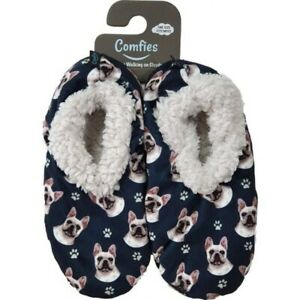 Comfies Sherpa Lined Dog Slippers French Bulldog