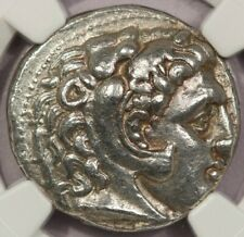 323-317 Bc Kingdom of Macedon Philip Iii Ar Tetradrachm obv Heracles Ch Xf B-1
