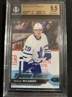 2016-17 UPPER DECK WILLIAM NYLANDER YOUNG GUNS RC #249 BGS 9.5 HIGH SUB!!!🔥🔥🔥