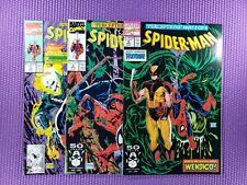🔥 Spider-man (1991) #7, #8, #9 -Todd McFarlane Wolverine HIGH GRADE CGC READY