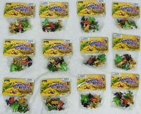 NOS New Animal World Lot of 12 packs of frogs 60 Frogs Total Reptiles