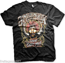 JIMI HENDRIX HALO  T-Shirt  camiseta cotton officially licensed