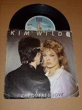 """KIM WILDE - Chequered Love - 1981 UK 7"""" vinyl single"""