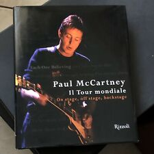 Paul McCartney Book Italiano EACH ONE BELIEVING Il tour Mondiale