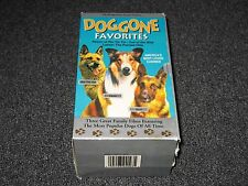 Doggone Favorites Rin Tin Tin /  Lassie / Call of the Wild 3 VHS Tapes