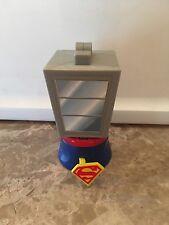 SUPERMAN Toy Spinning Phone Booth  1997 Burger King Kids Club DC Comics