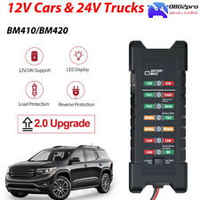 12V 24V Automotive Car Truck Motocycle Battery Analyzer Alternator Tester